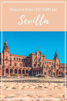 Te contamos los mejores free tours de Sevilla para que conozcas la historia, los monumentos y los mejores sitios con un guía especializado. #freetours #sevilla #turismo#andalucia #viajar Tours, Places To Go, Free, Travel, Sevilla, Paths, Monuments, Destinations, Community