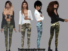 Lilly Jeans at Teenageeaglerunner • Sims 4 Updates