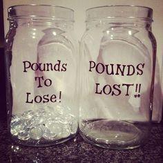 motivational weight loss jars
