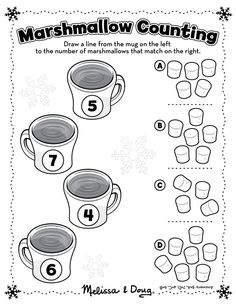 There are so many great (and secretly educational) activities you can do with marshmallows! Check out these 3 simple ideas....
