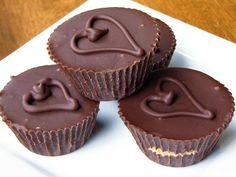 homemade peanut butter cups & The Secret Recipe Club