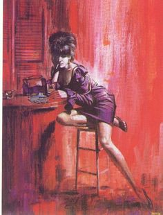 Bar Girl 1967 Boris Vallejo