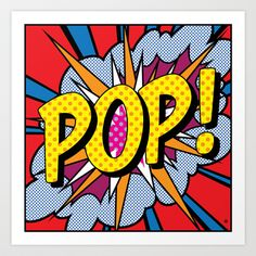 POP+Art+#4+Art+Print+by+Gary+Grayson+-+$25.00