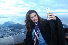 Giovanna Antonelli no evento da  Nespresso no Cristo Redentor, Corcovado, Rio de Janeiro, RJ. Foto: Roberto Filho. (23/08/16).