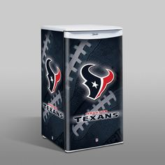 Houston Texans NFL Counter Top Fridge   I want to replace our outdoor kitchen fridge with this one!!