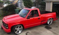 Image may contain: car and outdoor 1995 Chevy Silverado, Silverado Single Cab, Chevy Stepside, Chevy Pickups, Chevrolet Silverado 1500, Custom Chevy Trucks, Chevy Pickup Trucks, Classic Chevy Trucks, Gm Trucks