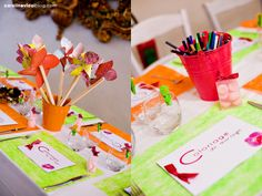 table des enfants more deco deco tables de mariage decoration idea de ...
