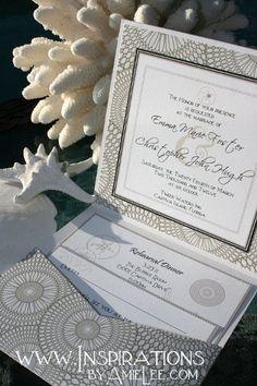 Beach Invitations Wedding Invitations Photos & Pictures - WeddingWire.com