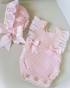 4 Pdf Crochet Patterns - Newborn Photo P - Diy Crafts - maallure Knitted Baby Clothes, Knitted Romper, Newborn Crochet Patterns, Baby Patterns, Free Crochet, Knit Crochet, Baby Turban, Baby Sweaters, Kind Mode