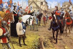 English King Henry V in France, Hundred Years War