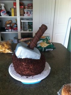 Theres A Hammer In The Cake