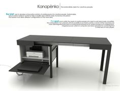 Kanapetko Desk Design by Krassi Dimitrov « Furniii