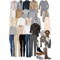 My blank capsule wardrobe by lillyicity on Polyvore featuring Madewell, ONLY, Jigsaw, J.Crew, Issa, mbyM, MANGO, Jane Norman, H&M and Burberry