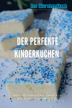 The perfect children& cake (also for large children)- Der perfekte Kinder-Kuchen (auch für große Kinder) Quickly baked, easy to take with you and plastered clean … - Baby Food Recipes, Cake Recipes, Snack Recipes, Healthy Recipes, Food Cakes, Pumpkin Spice Cupcakes, Mini Cupcakes, Fall Desserts, Ice Cream Recipes