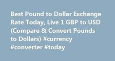 Best Pound to Dollar Exchange Rate Today, Live 1 GBP to USD (Compare & Convert Pounds to Dollars) #currency #converter #today http://currency.nef2.com/best-pound-to-dollar-exchange-rate-today-live-1-gbp-to-usd-compare-convert-pounds-to-dollars-currency-converter-today/  #pound exchange rate # Best Pound to Dollar Exchange Rate (GBP/USD) Today FREE over £700£7.50 Under £700 The tourist exchange rates were valid at Friday 28th of October 2016 08:46:37 AM, however, please check with relevant…