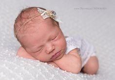 newborn baby white