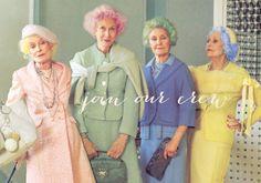 Cool old ladies