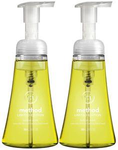 Foaming Hand Wash, Lemon Mint, 10 Oz Pump Bottle