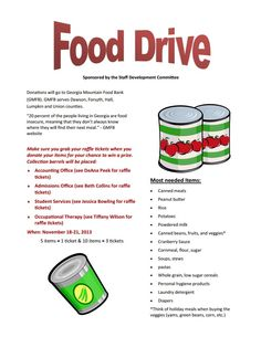 Canned Food Drive Flyer Fresh Food Drive Nov 18 21 Brenau Update Flyer Free, Free Flyer Templates, Food Drive Flyer, Canned Food Drive, Simple Business Plan Template, Restaurant Flyer, A Food, Food Bank, Free Food