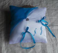 """Toute Couleur Personnalisé Bleu Pâle étoile initiale 16/"""" Housse de coussin Maternelle Chic"""