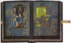 Schwarzes Stundenbuch – Werkstatt von Willem Vrelant