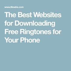 14 Best FREE Ringtones images in 2017 | Free ringtones, Woodstock