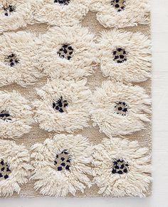 Wool Rya Rug | Rugs