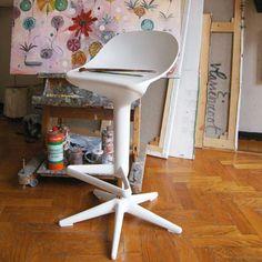Spoon Stol, Vit - Antonio Citterio - Kartell - RoyalDesign.se