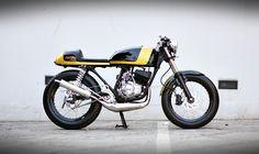BEDA GAYA CAFE RACER – YAMAHA RX-Z 135 1995