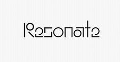 For Resonate, a festival about the culture of technology and art, two Pentagram designers created a geometric, mutable visual identity.