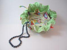 Owl Jewelry Satchel. $10.00, via Etsy.