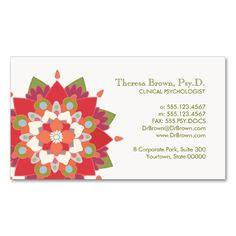 1477 best life coach business cards images on pinterest business lotus logo wellness and mental health appointment double sided standard business cards pack of colourmoves