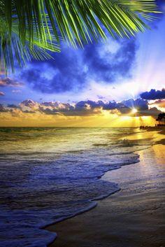 Beautiful Caribbean sky – Dominican Republic