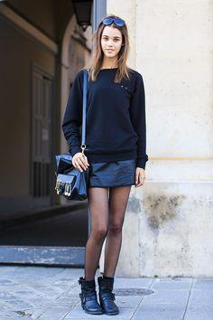 La jupe en cuir, plus sexy que la mini ? | Glamour