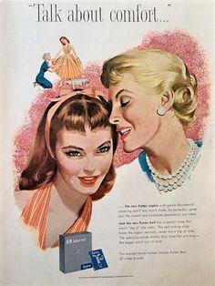 Old Advertisements, Retro Advertising, Retro Ads, Vintage Ads, 1950s Ads, Vintage Makeup, Ad Art, Old Ads, Magazine Ads