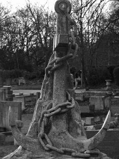 Graveyard in Hornchurch Essex home to many sailor's graves