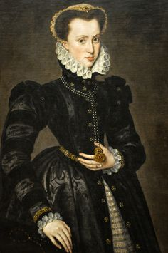 All sizes | Antonis Mor (a follower of) - Portrait of a Count Lady, 1570 at Art Institute of Chicago IL | Flickr - Photo Sharing!