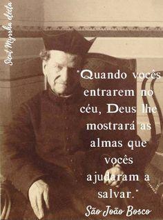 Have Faith, My Lord, Roman Catholic, Self Esteem, Dom Bosco, Saints, Words, Quotes, Wallpaper