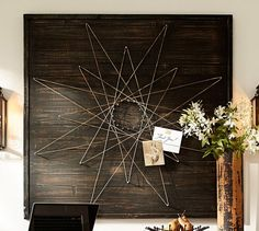 Spirograph Wall Art | Pottery Barn  Not exactly shabby chic but I love this and would be easy to make
