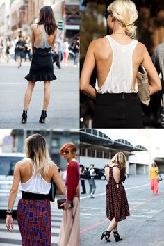 If You're Thinking About….Racerbacks « The Sartorialist i esp like the one in the bottom right corner