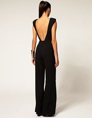 Buy Aqua Spock Tailored Wide Leg Jumpsuit at ASOS. Get the latest trends with ASOS now. Cute Fashion, Look Fashion, Womens Fashion, Style Work, Style Me, Mein Style, Looks Street Style, Looks Black, Moda Casual