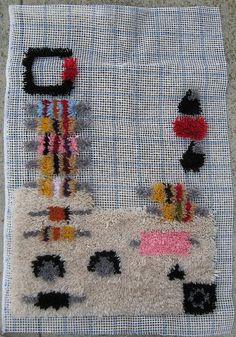 I used to love latch hooking