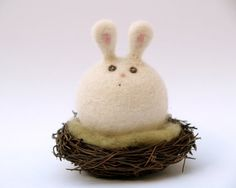 Hey, I found this really awesome Etsy listing at https://www.etsy.com/listing/93070436/bunny-toy-sitting-on-her-nest-very-sweet