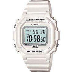 Casio F108WHC-7B Wrist Watch, Adult Unisex, Gray