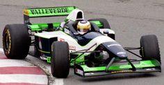 1996 Minardi. Sauber