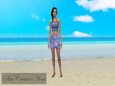 Sim Creator Ann's Beach Cas Background