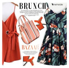 """""""Mother's Day Brunch Goals"""" by vanjazivadinovic ❤ liked on Polyvore featuring Geox, Sheinside, polyvoreeditorial and brunchgoals"""