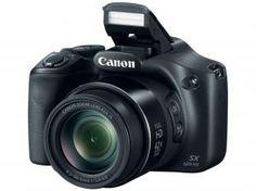 "Câmera Digital SemiProfissional Canon SX520 HS - 16.0MP LCD 3"" Zoom Óptico 42x Full HD Cartão 8GB Bivolt"