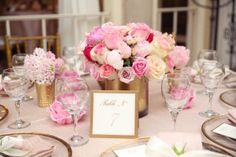 It's official. In my next life I want to be Mila. Or Mila's mom, rather. Because this is the sweetest baby shower is dripping in pink and pretty of the loveliest variety. Designed byHomeArt & Events, it manages to strike that