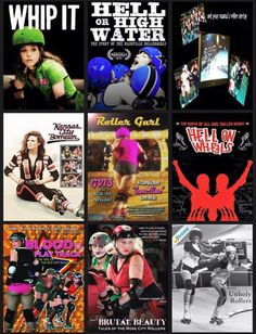 Derby movies Whip it is my favorite 😁😁😁 Roller Derby Skates, Roller Derby Girls, Quad Skates, Roller Skating, Roller Derby Clothes, Derby Names, They See Me Rollin, Derby Day, Architecture Tattoo